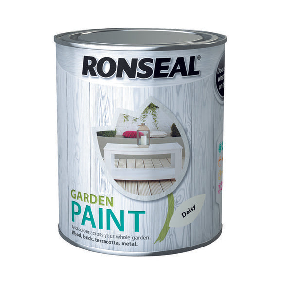 Ronseal Garden Paint 750ml Daisy
