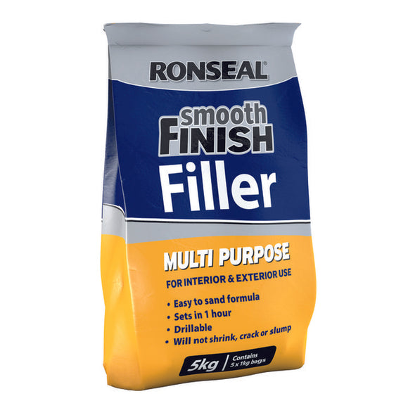Ronseal Multi Purpose Wall Filler 5kg