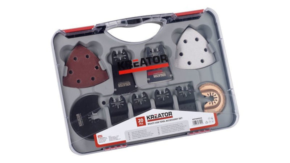 Kreator Multi-Use Tool Acces Set 20 Pieces