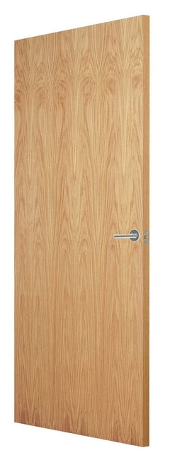 Indoors Flush Oak Veneer Match Fd30 F/S Door 80X32 44Mm
