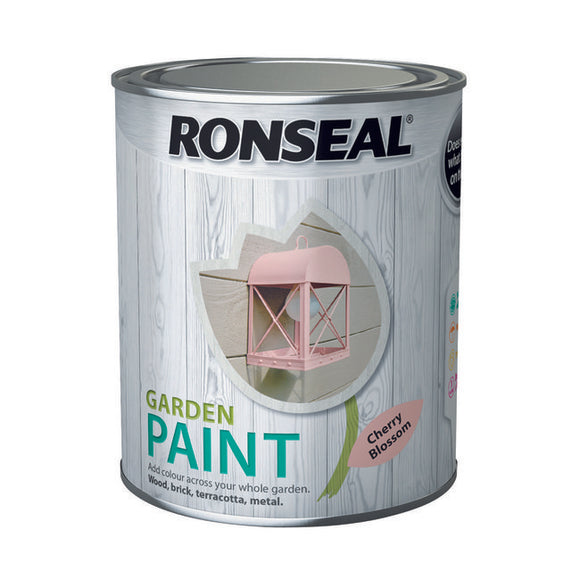 Ronseal Garden Paint 750ml Cherry Blossom