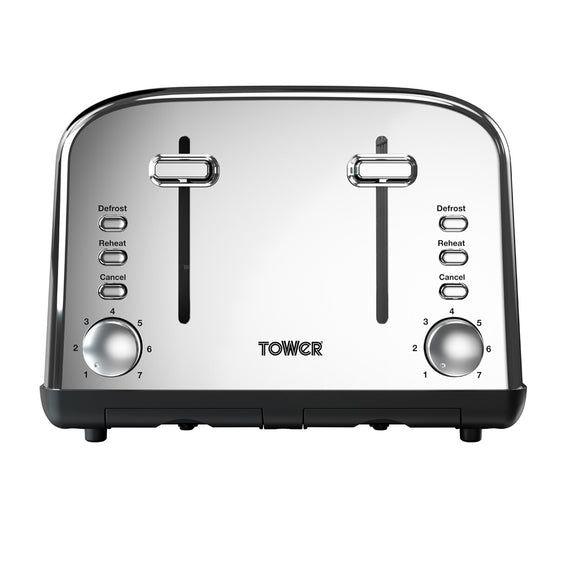 Tower 4 Slice Toaster