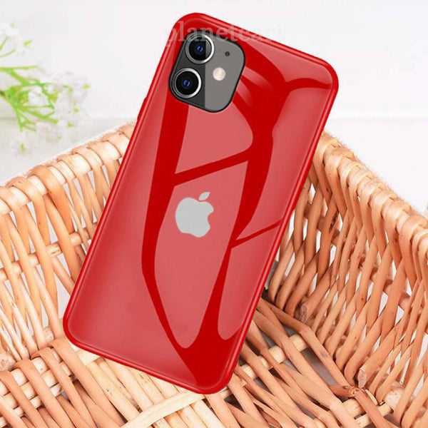 Glossy Finish Soft Silicon Edge Case Cover For iPhone 11