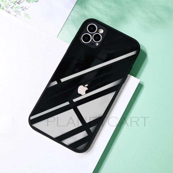 Special Edition Glossy Silicone Soft Edge Back Case With Camera Protection For iPhone 12 Mini