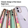Electroplating Silicone Clear Back Case For iPhone 12 Series