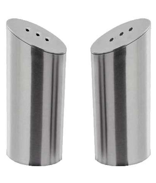 Stainless Steel Salt & Pepper Shaker 2 Pcs