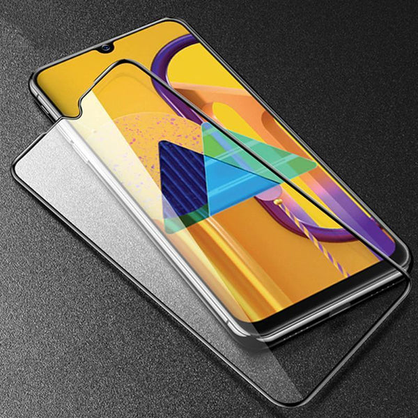 5D Curved Tempered Glass Screen Protector Case For Samsung M51