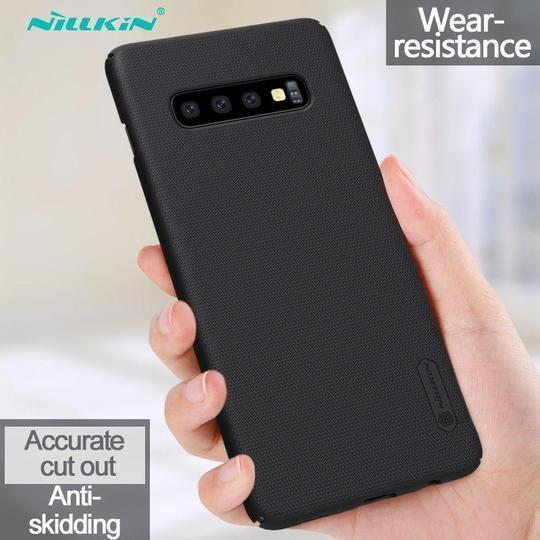 Nillkin Super Frosted Shield Back Case For Samsung Glaxy S10 - Planetcart
