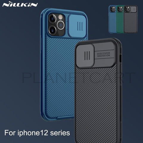 Nillkin Camshield Camera Protection Back Case Cover For iPhone 12 Series