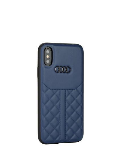 Audi Q8 D1 Genuine Leather Crafted Limited Edition Case For iPhone X/XS - Planetcart