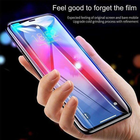 Baseus Full Coverage Curved Tempered Glass Case For iPhone XS Max - Planetcart