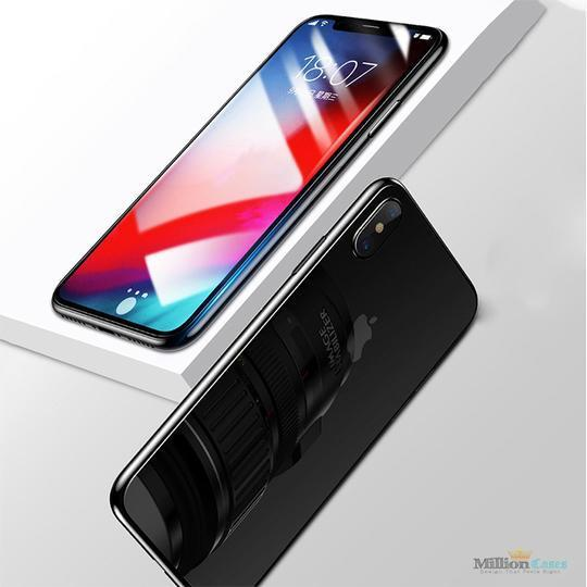 Baseus Tempered Glass [ Front + Back ]  Case For iPhone XS Max - Planetcart
