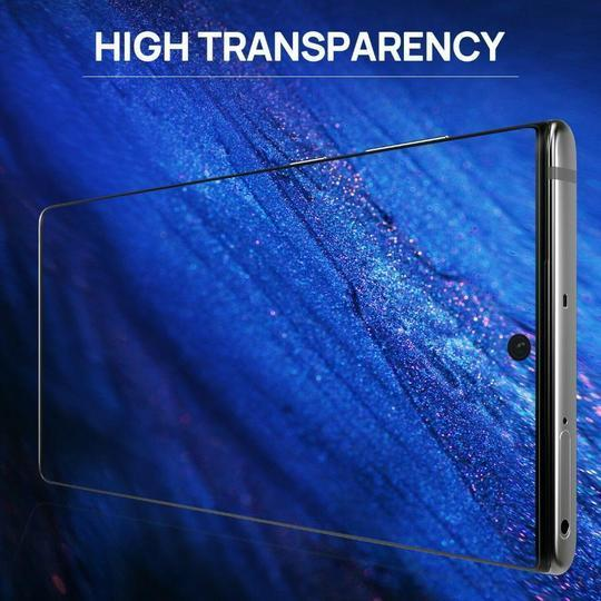 Baseus Curved Full Screen Tempered Glass Screen Protector Case For Samsung Note 10 - Planetcart