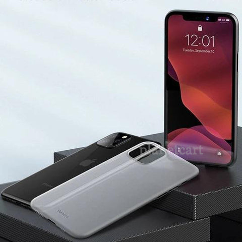 Baseus Ultra-Thin Matte Paper Back Case For iPhone 11 Pro - Planetcart