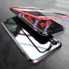 Electronic Auto Fit [ Front + Back ] Glass Magnetic Case For iPhone X/XS