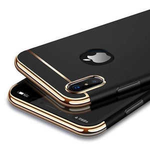 IPHONE X/XS LUXURY ELECTROPLATING MATTE CASE - Planetcart
