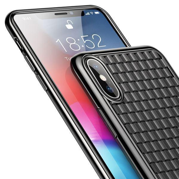 Baseus Knitted Breathing Soft Case For Iphone X/XS - Planetcart