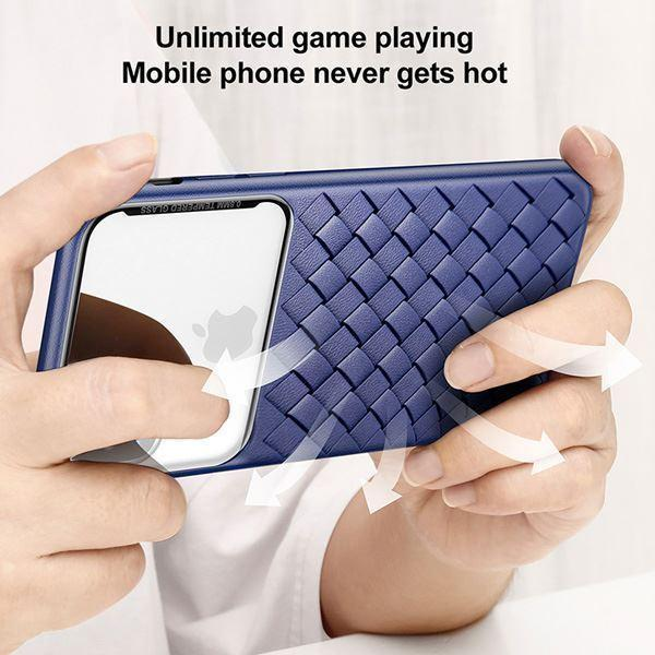 Baseus Cross Knit Clear Window Case For iPhone XS Max - Planetcart