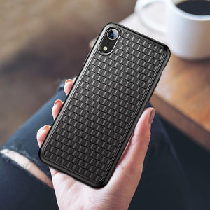 Baseus  Luxury Grid Pattern Protective Case For  iPhone XR - Planetcart