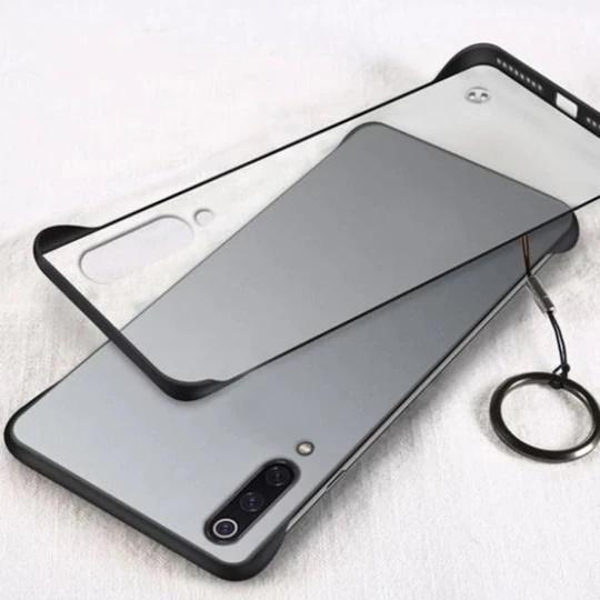 Frameless Semi Transparent Finger Ring Case for Mi Redmi A3 - Planetcart