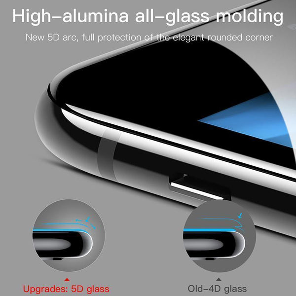 5D Tempered Glass Screen Protector Case For iPhone 7 Plus - Planetcart