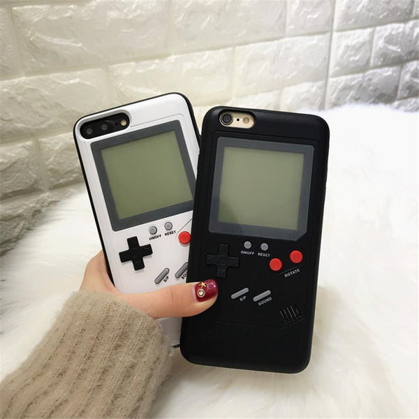 iPhone 8 Gameboy Multifunction Tetris Phone Case - Planetcart