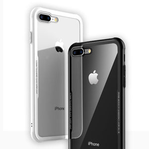 iPhone 8 Plus Original Tempered Glass Transparent Case - Planetcart