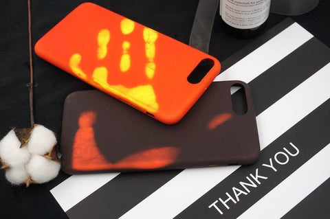 iPhone 8 Touch Sensitive Color Changing Back Cover