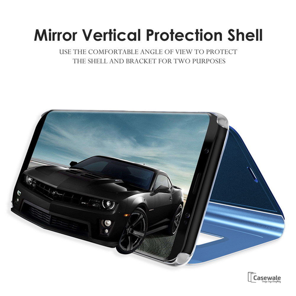 Clear View Smart Mirror Flip Case [Non-Sensor] For  iPhone XR - Planetcart