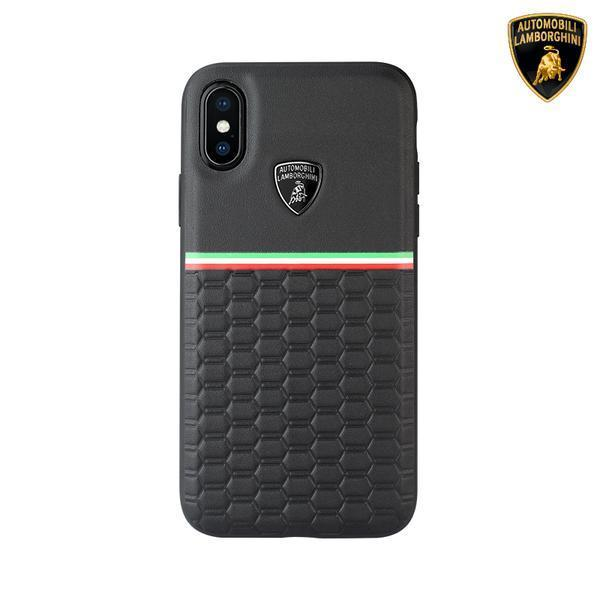 Lamborghini Genuine Urus D3  Leather Crafted Limited Edition Case For iPhone X/XS - Planetcart