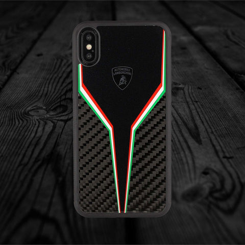 Lamborghini SC D2 Carbon Fiber Limited Edition Case For iPhone XS Max