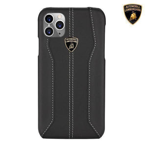 Lamborghini Genuine Huracan D1 Leather Crafted Limited Edition Case For iPhone 11 Pro - Planetcart