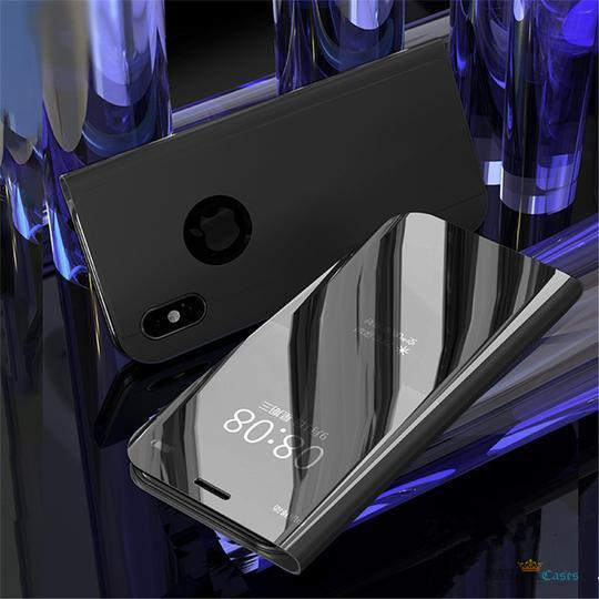 Mirror Clear View Flip  [Non-Sensor Working] Case for iPhone X/XS - Planetcart
