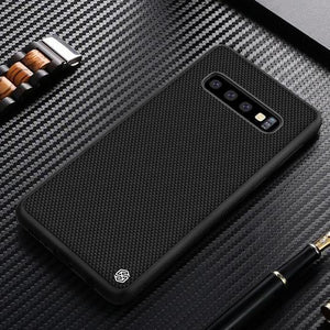 Nillkin Hybrid 3D Textured Nylon Fiber Case For Samsung Glaxy S10 Plus - Planetcart