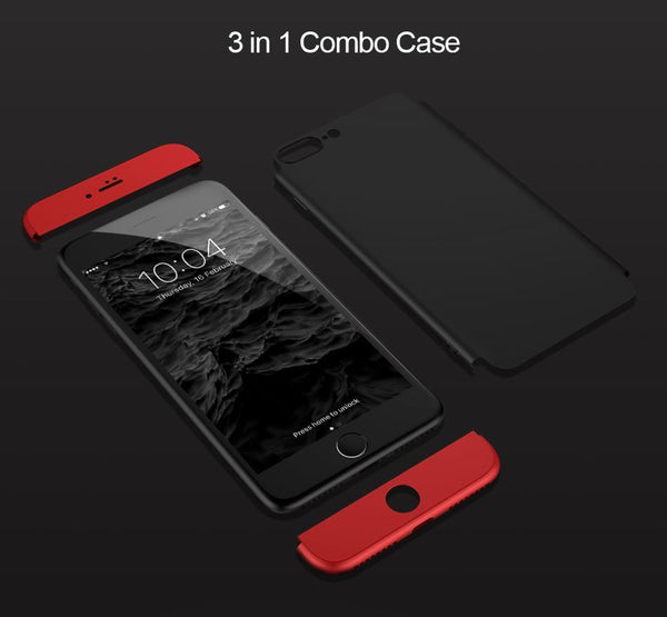 iPhone 8 Full 360 Protection Hard Phone Case - Planetcart