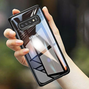 Hybrid Transparent Shockproof Bumper  Case For Samsung Glaxy S10 Plus - Planetcart