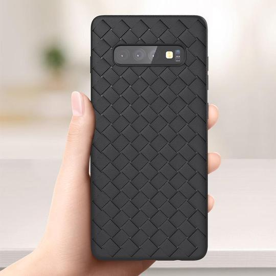 SAMSUNG GALAXY S10E ULTRA-THIN GRID WEAVING CASE - Planetcart