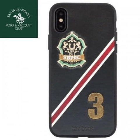Santa Barbara Third Series Genuine Leather Case For iPhone X/XS - Planetcart