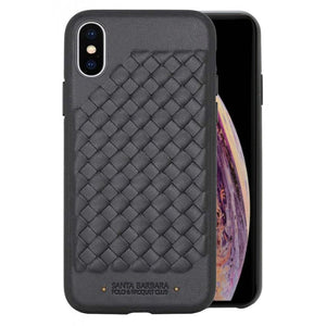 Santa Barbara Ravel Series Genuine Leather Case For iPhone X/XS - Planetcart