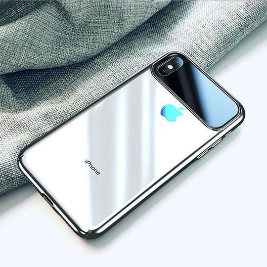 Totu Polarized Lens Mirror Transparent Hard Case For iPhone X/XS - Planetcart