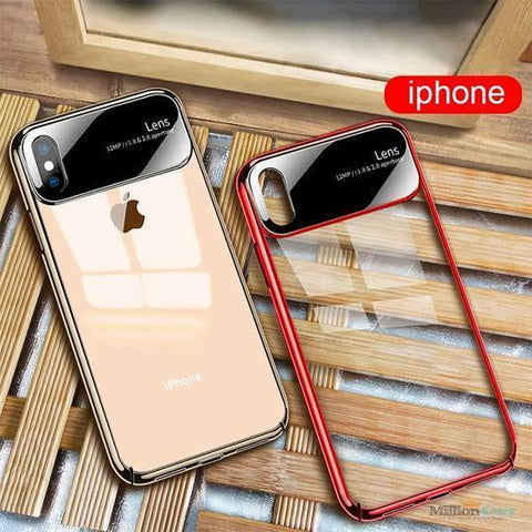 Totu Polarized Lens  Mirror Transparent Hard Case For iPhone XS Max