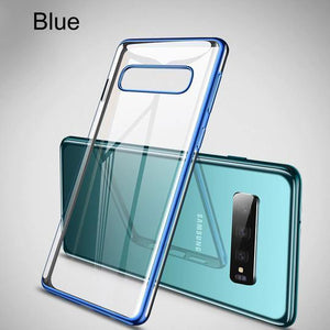 Baseus Glitter Transparent Ultra Thin Case For Samsung Glaxy S10 Plus - Planetcart