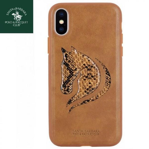 Santa Barbara Viscount Series Genuine Leather Case For iPhone X/XS - Planetcart