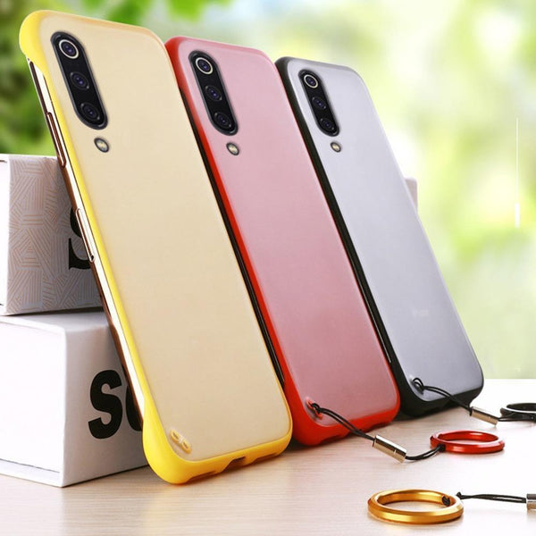 Frameless Semi Transparent Finger Ring Case For Samsung A50s - Planetcart