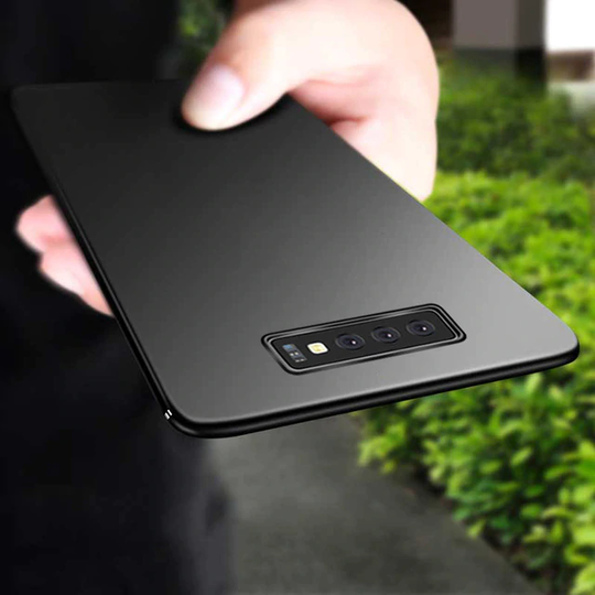 Ultra Thin Matte Paper Back  Case For Samsung Glaxy S10e - Planetcart
