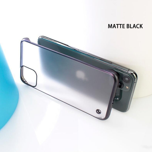 Glossy Edge Semi Transparent Premium Case For iPhone 11 Pro Max - Planetcart