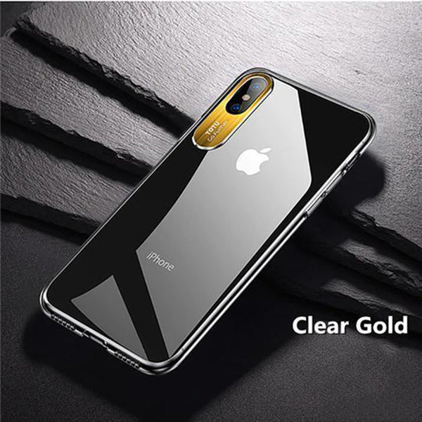 Totu Clear Camera Protection Case For iPhone X/XS - Planetcart