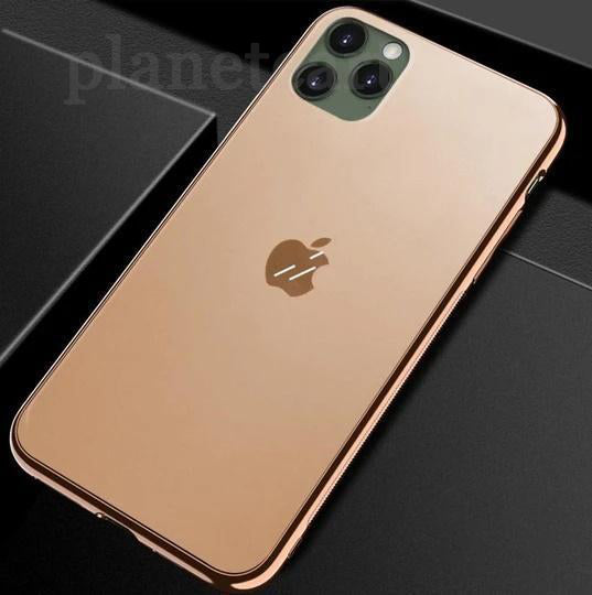 Soft Edge Matte Finish Glass Case For iPhone 11 Pro - Planetcart