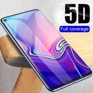 Henks Curved Tempered Glass Screen Protector Case For Samsung Glaxy S10 Plus - Planetcart