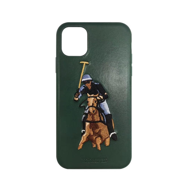 Santa Barbara Jockey Series Genuine Leather Case For iPhone 11 Pro - Planetcart